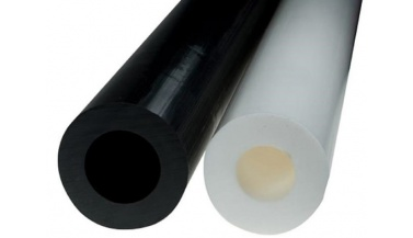 rury poliamidowe poliamid biały czarny