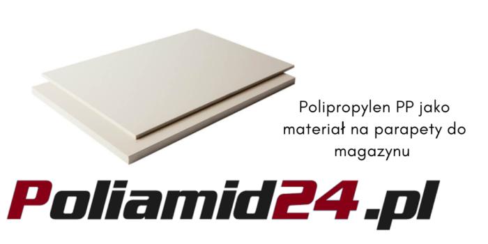 Polipropylen PP na parapety do magazynu