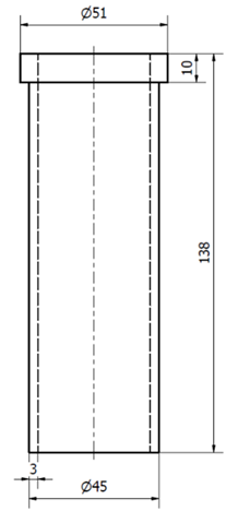 Redukcyjna tuleja poliamdowa